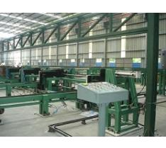 steel pipe color painting line