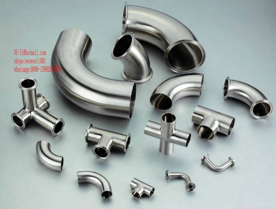 3A/DIN/SMS/ISO Sanitary Stainless Steel Pipe Fitting