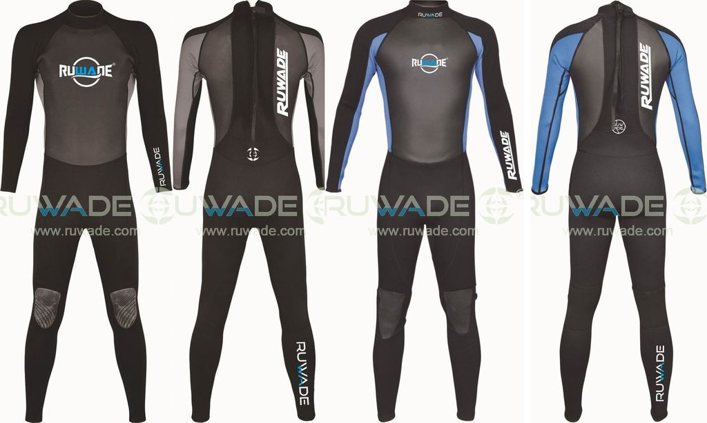 Full Diving long sleeve neoprene wetsuits windsurfing spring surf -159