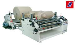 Paper jumbo roll slitting machine