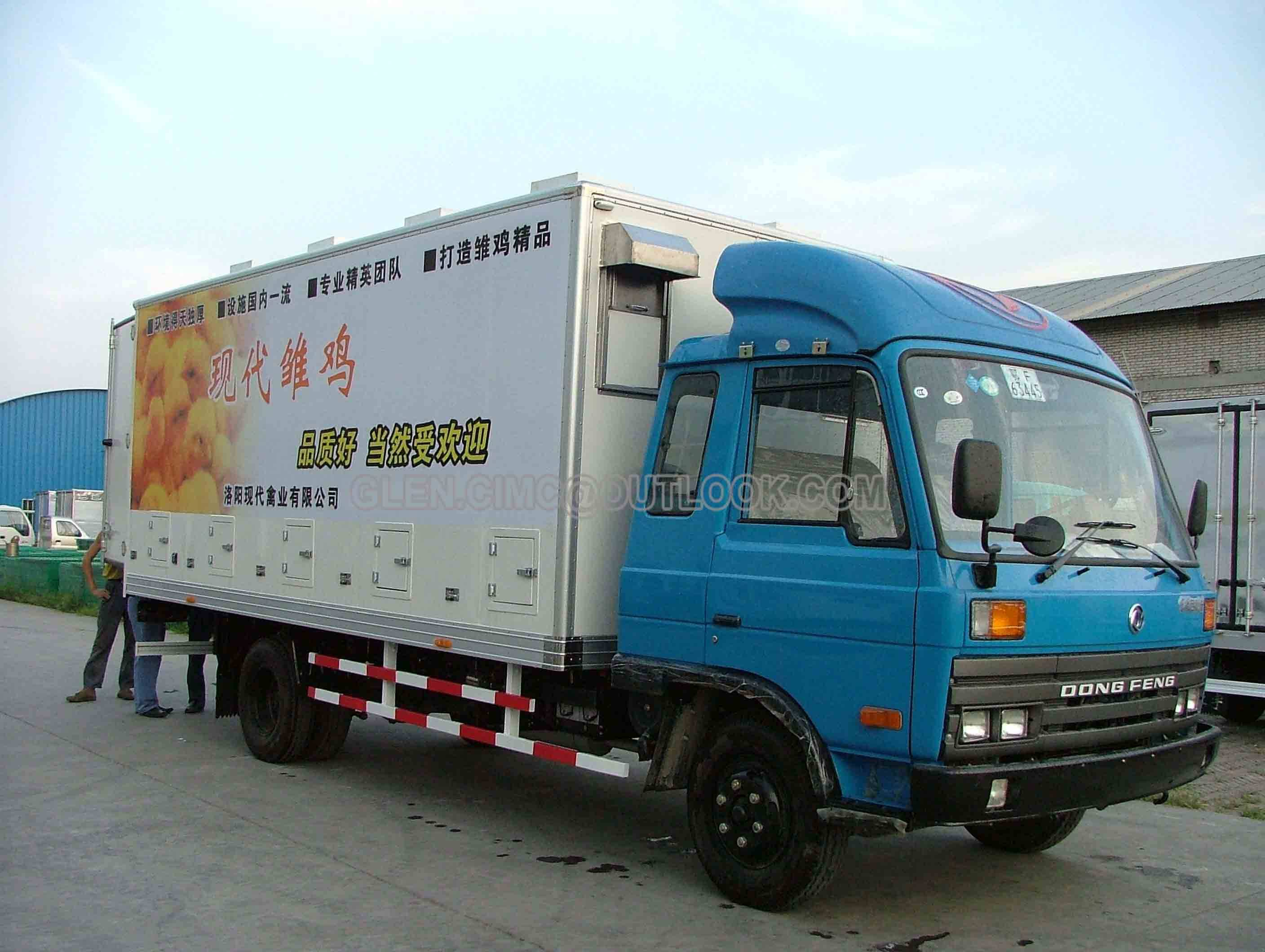 Chicken Transport Truck