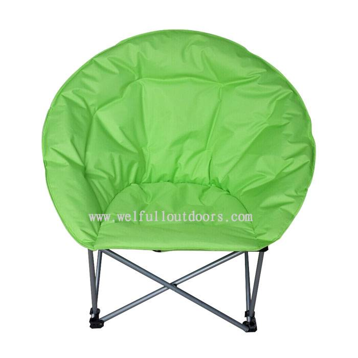 Wholesale Waterproof Fabric Folding Camping Adult Moon Chair