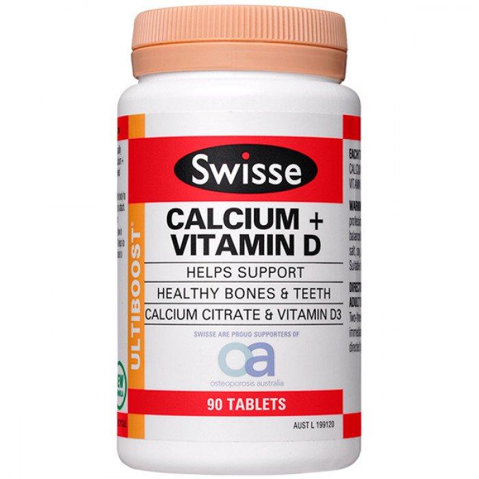 Herbal Extract Type and Healthy Bones Function Swisse Calcium