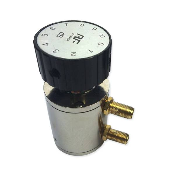 2W 10dB SMA knob variable attenuator DC 6Ghz