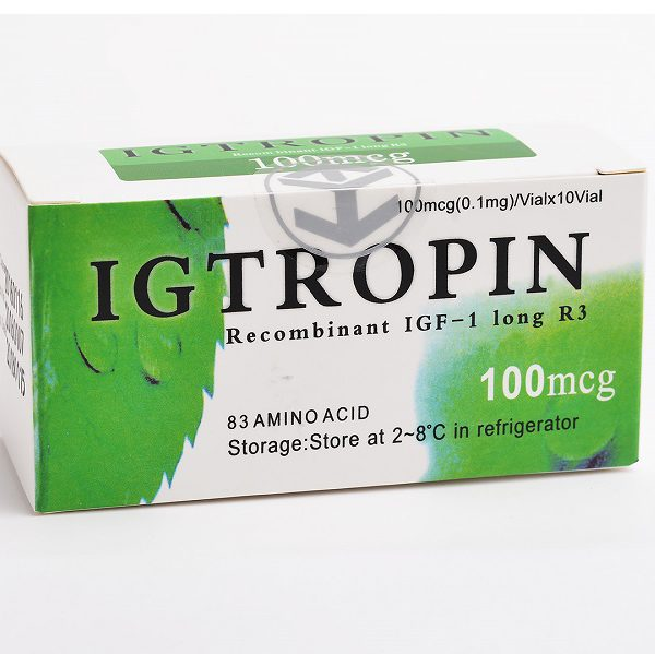 China Original Igtropin HGH 100mcg 10 vials 1000mcg Kit Somatropin For Sale Lowest Price