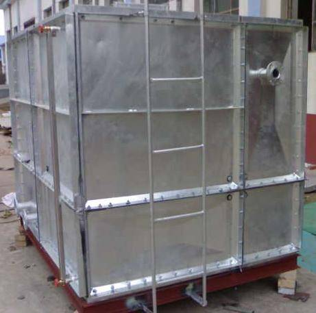 Firefighting durable strong with low price water tank galanized sheet steel water tank