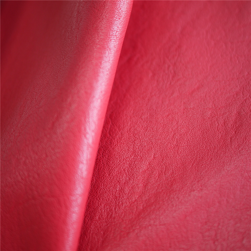 Hot Sell PU Synthetic Artificial Faux Leather for Cloth Making