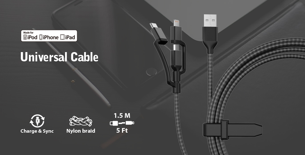 3in1 Universal Cable