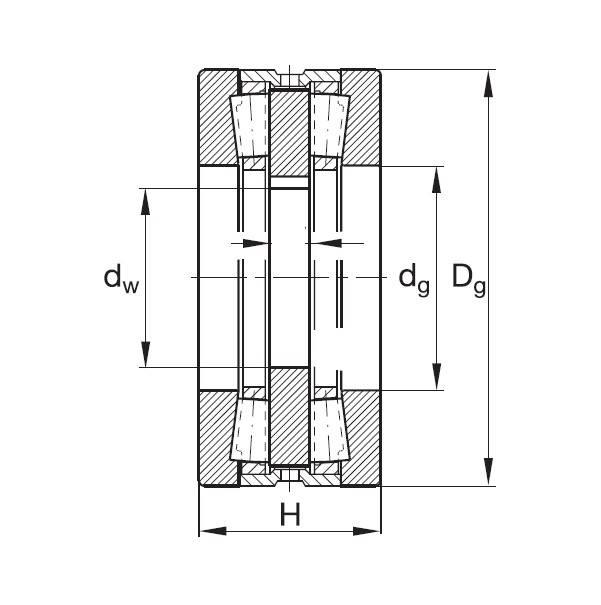 FAG 522010HW Tapered Roller Thrust Bearings