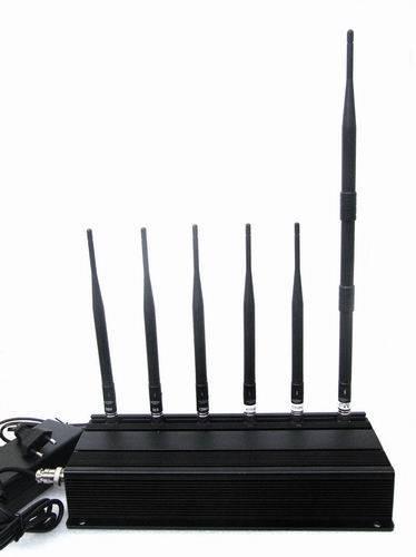 6 Antenna 3G 4G Cell phone & Lojack Jammer