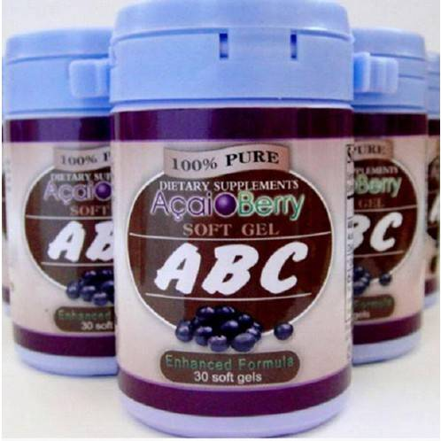 ABC Acai Berry Soft Gel Slimming Capsule