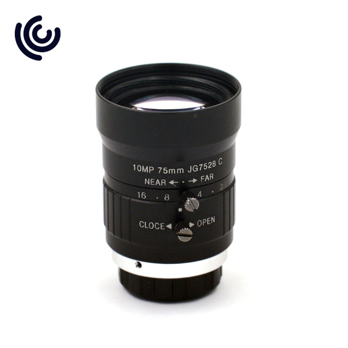 """1"""" 75mm 10MP F2.8 C mount lens for IMX255 & IMX267 sensor"""
