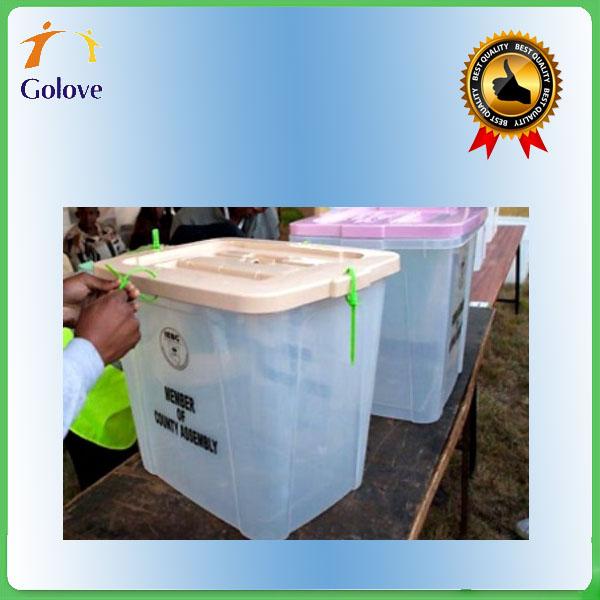 Custom-made PP Corrugated Plastic Ballot Box