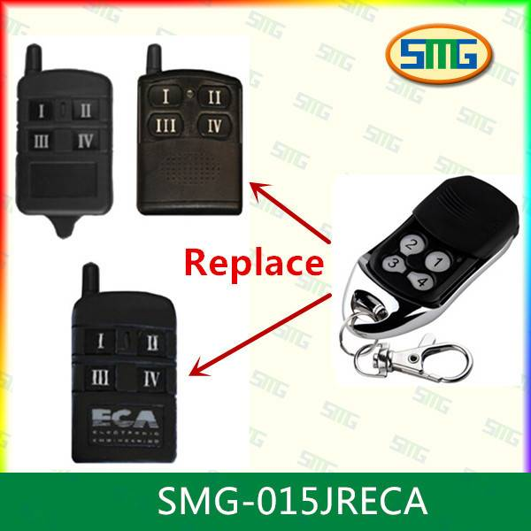 Compatible with ECA 433.92mhz universal wireless remote control