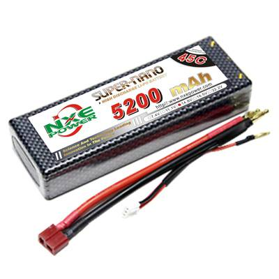 NXE5200mAh-45C-14.8V Hardcase RC Car Battery