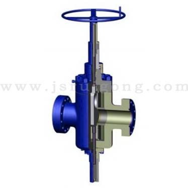 Ball screw operator valve