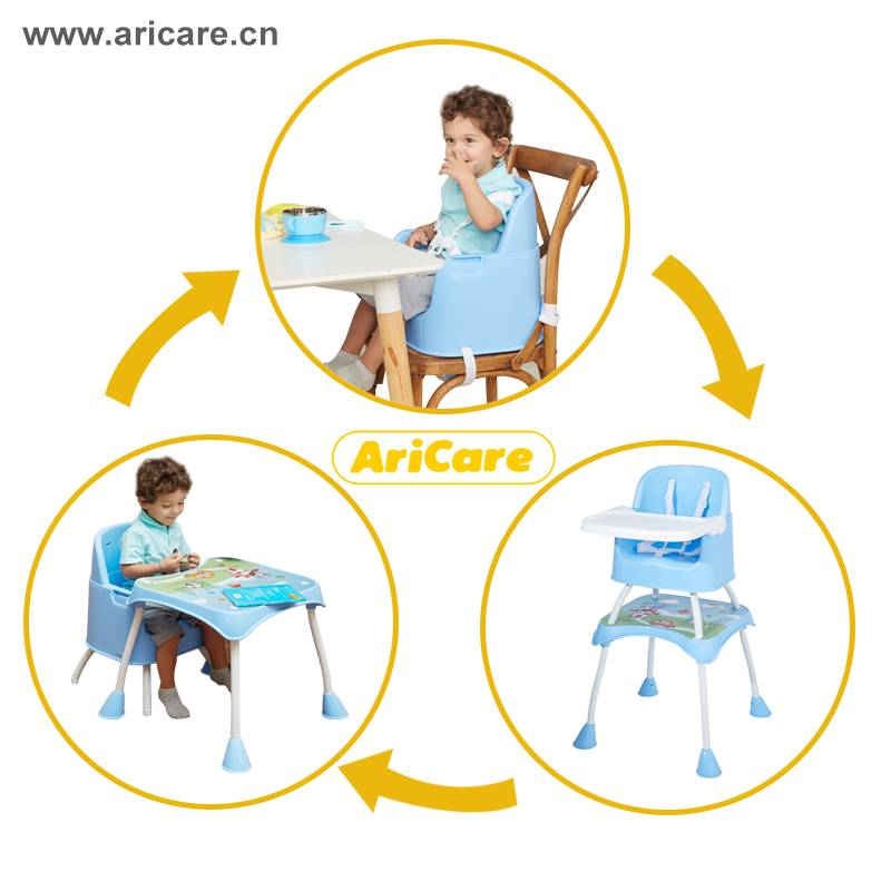 Adjustable Baby Feeding High Chair