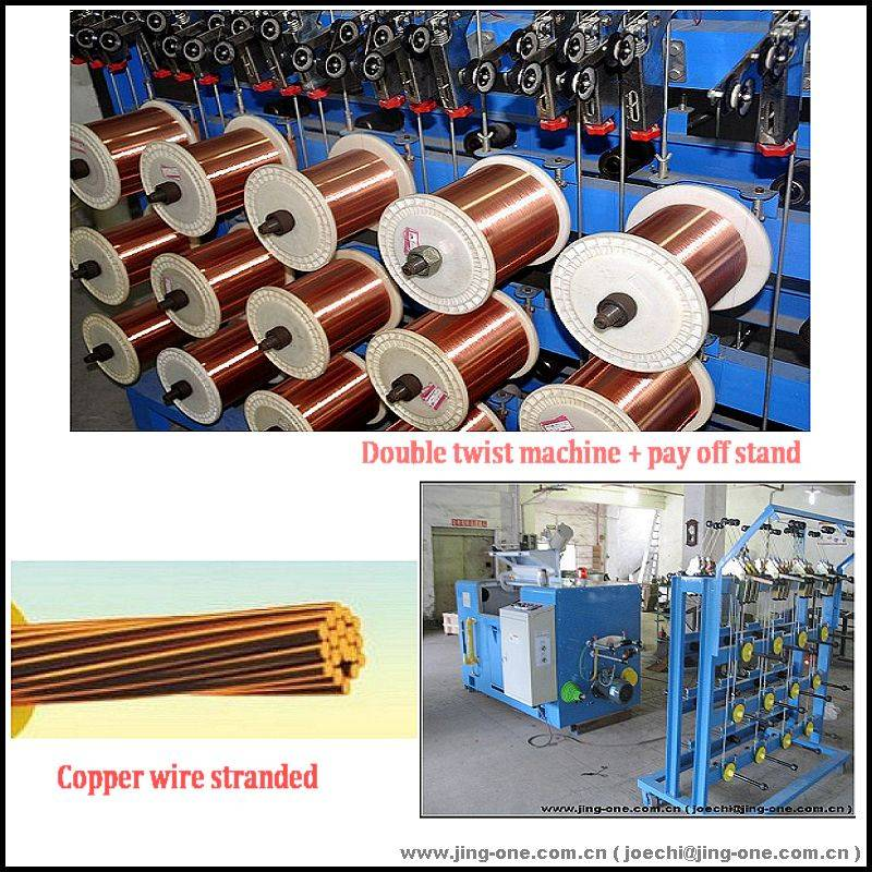 250-500p hight-speed pair twisting machine with cable wire