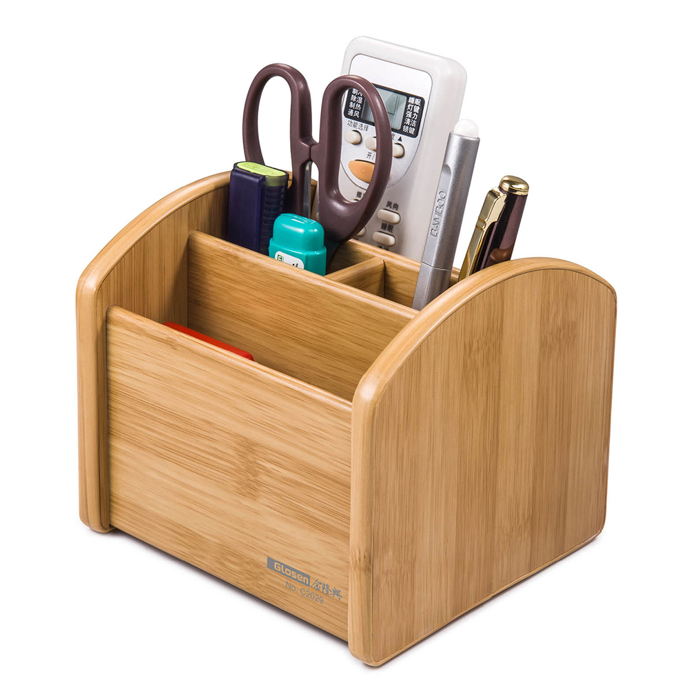 Glosen Wooden Multi Functional Storage Holder with Removable Base Plate C2029