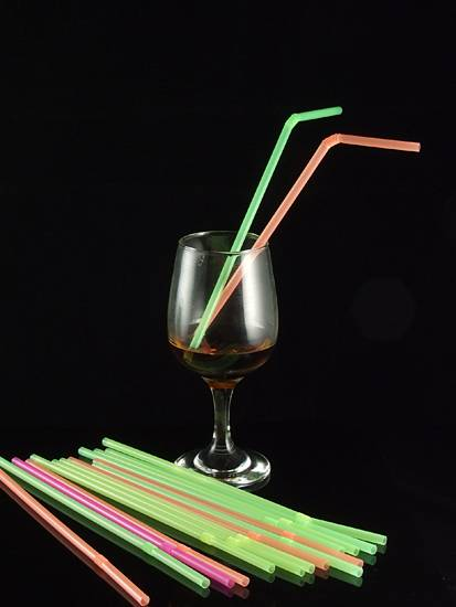 flexible straw