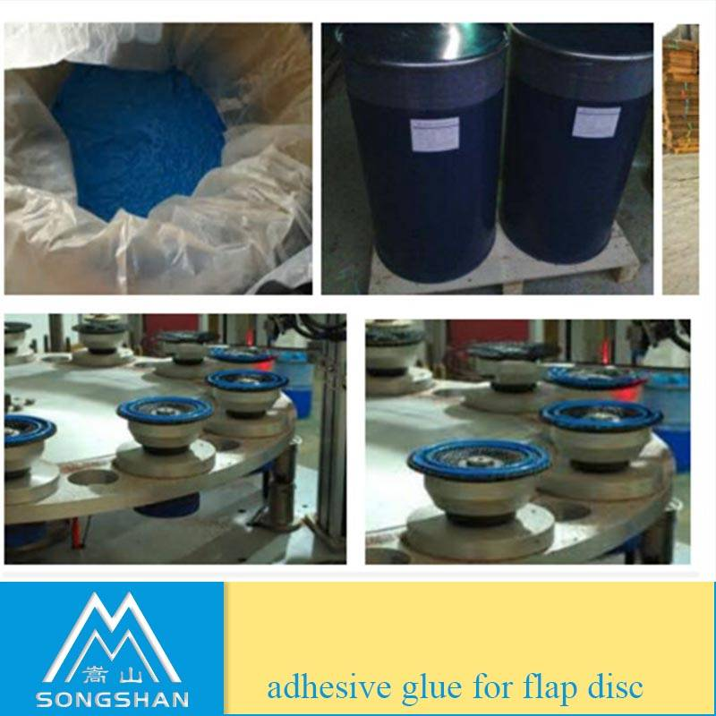 Single component epoxy adhesive glue for making flap discs