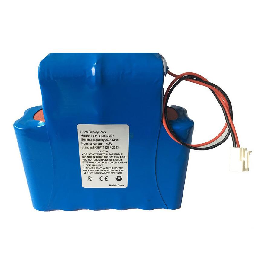 ICR18650-4S4P 14.8V 8800mAh Battery pack For stage lighting