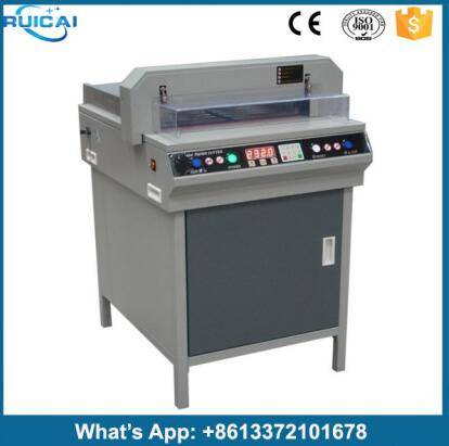 Manual Digital Display A4 Paper Cutter/Guillotine/paper cutting machine
