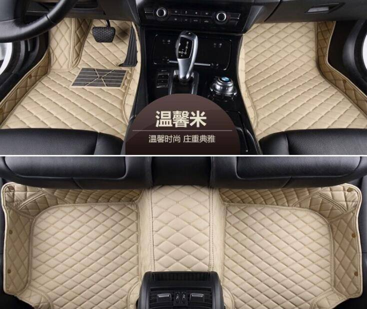 car mats leather XPE 5D car mats for Mercedes Benz GLS 350d 4MATIC/GLS 400 4MATIC 2016