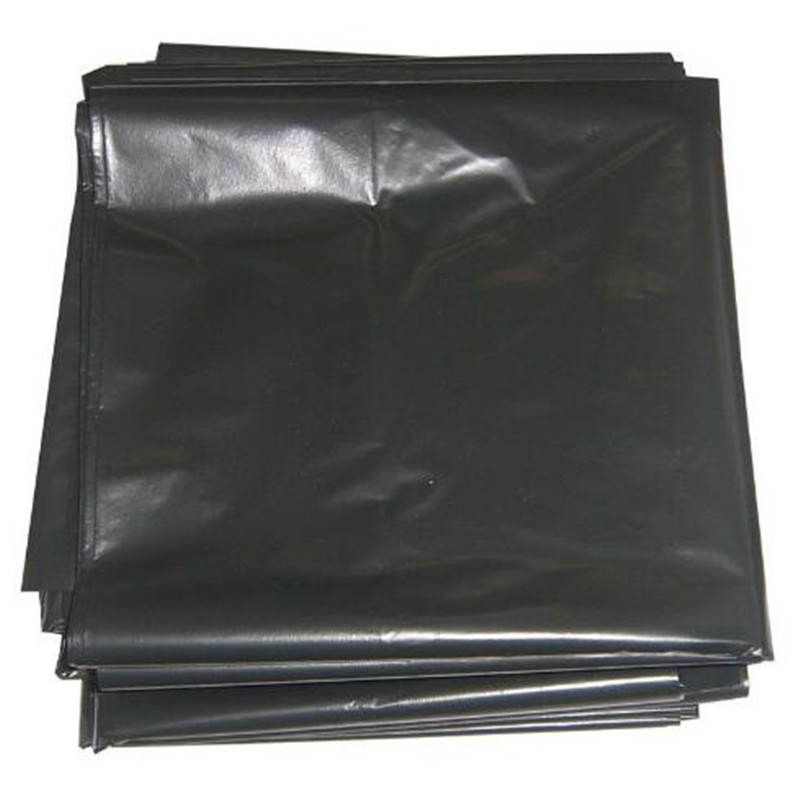 Black Heavy Duty Plastic Biodegradable Garbage Bag