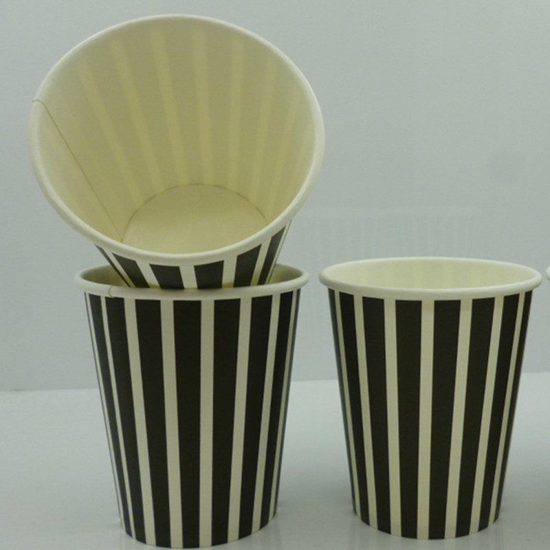 7oz disposable paper cup with lids