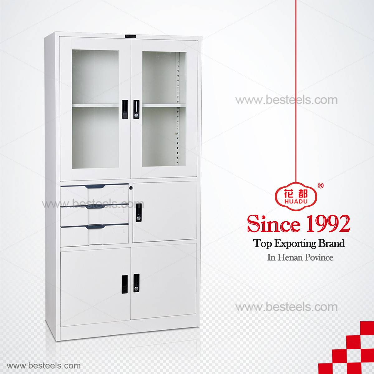 HDW-B35 KD Structure steel file cabinet
