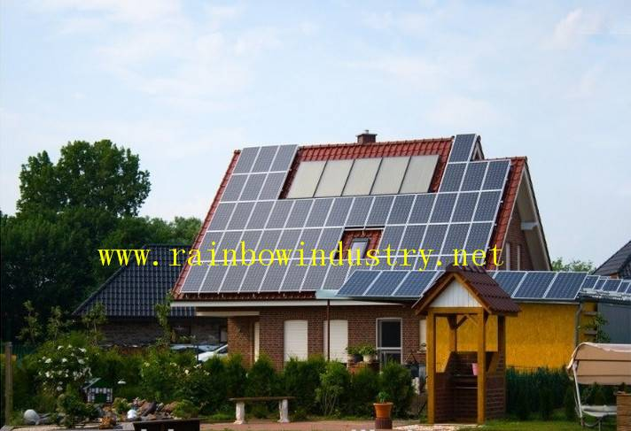 Grid on Home solar power system