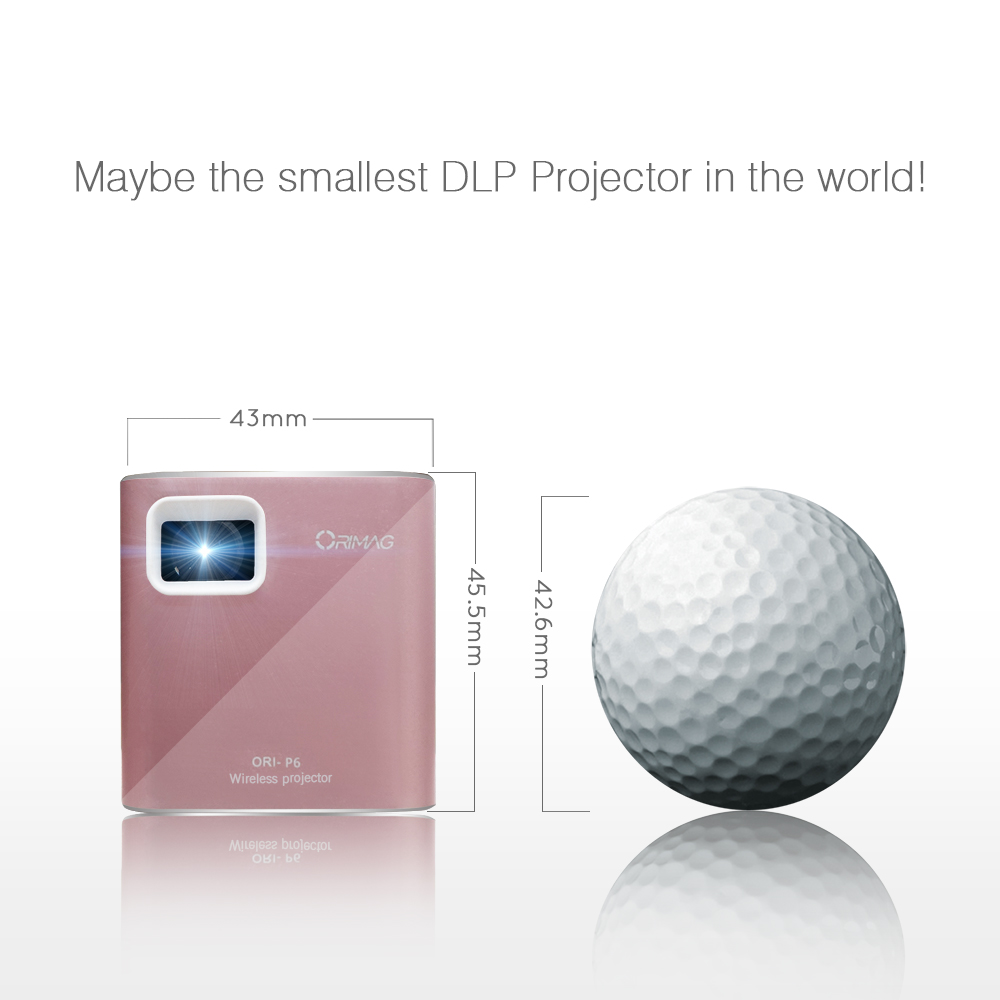 Portable Business Ultra short throw 1080P 3D 100 to 200 lumens mini projector