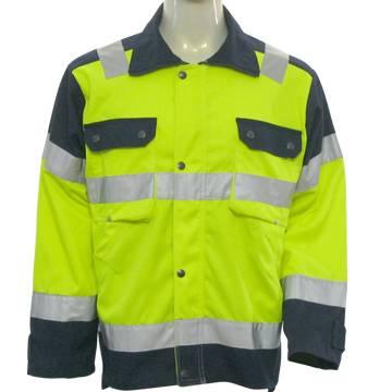 Reflective Jacket EN 471 Class 2, Hi Vis Jacket, Safety Jacket