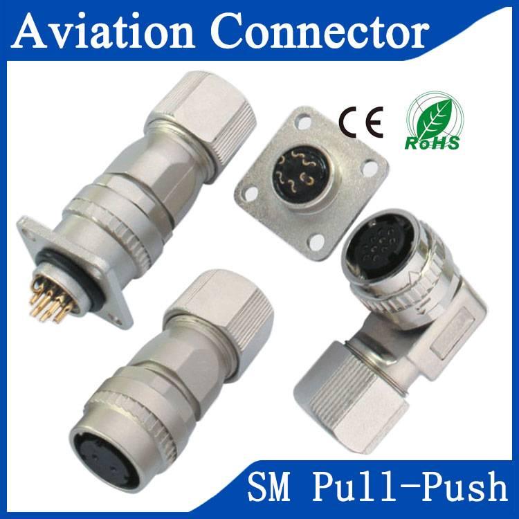 SM aviation servo motor saftey connector