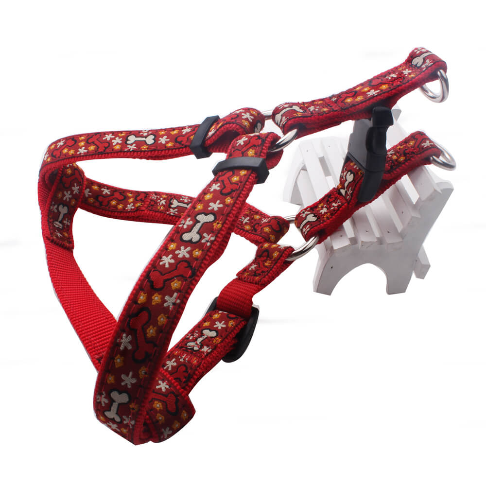 Best Dog Harness: Hot sell nylon ribbon dog harness online factory