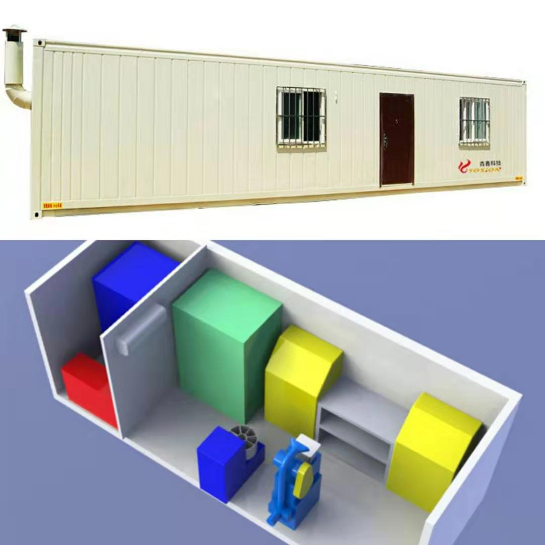 YMCL-20 20' Container Lab
