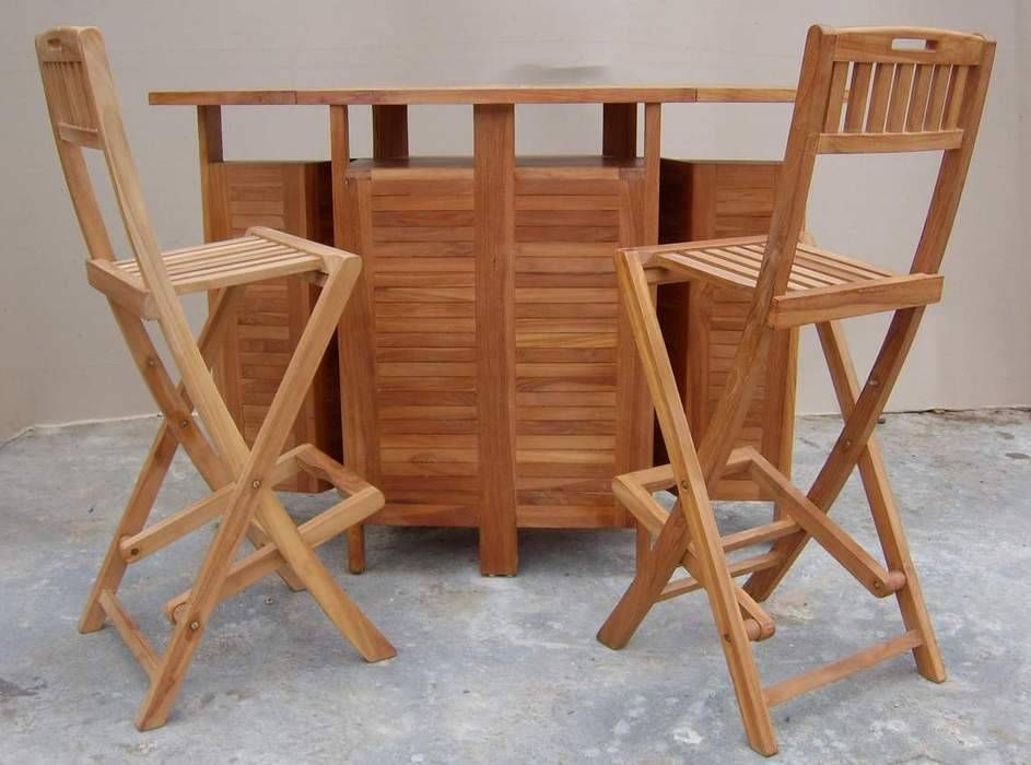 bar chair and table