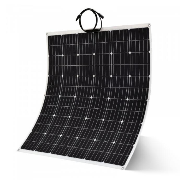 anti skid self cleaning ETFE surface flexible solar panel rough surface for camping rv boat yacht