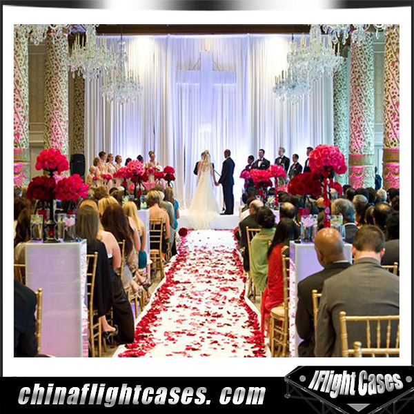 Pipe and Drape Aluminum Wedding Party Wholesale