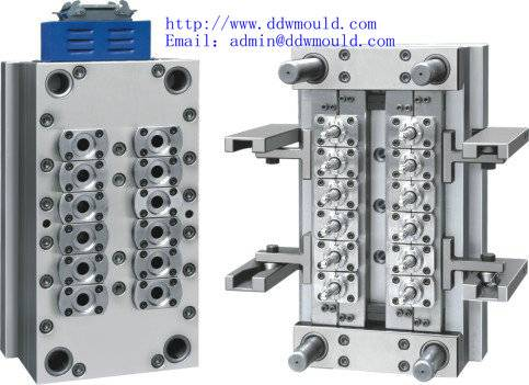 DDW Food and beverage engineers servicing the industry pneumatic 12 cavity valve gate self-locking