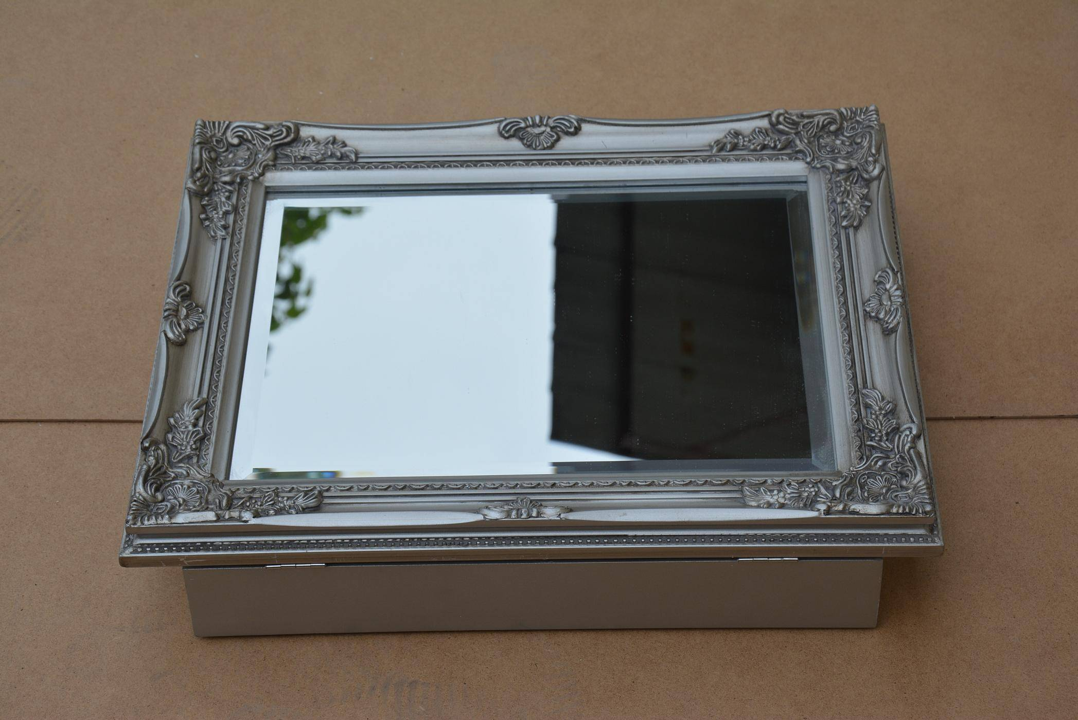 wooden frame box,cosmetic frame mirror box