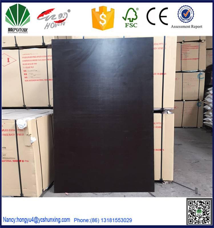 WBP brown black red laminated plywood forming plywood