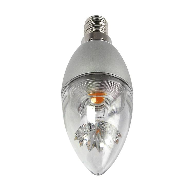 5w LED Candle Lamp Dimmable High Lumens