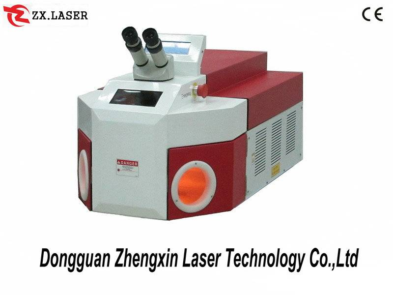 Metal parts laser spot welding machine