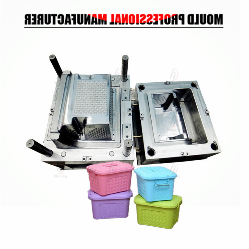 rattan storage container mould making