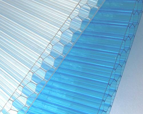 4-Wall H-Structure Polycarbonate Sun Sheet