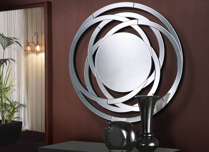 Modern decorative high quality etched venetian mirror