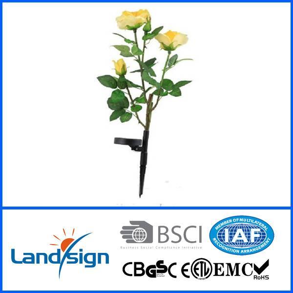 flip flap solar flower light solar lily light in solar lawn lights