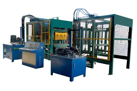 unburned cement brick making machine
